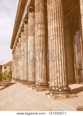 Altesmuseum Berlin Vintage