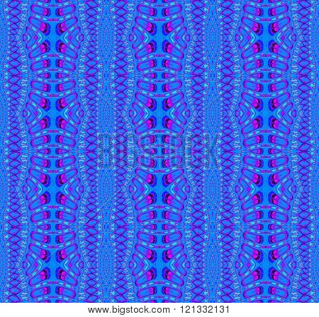 Seamless ellipses pattern magenta blue