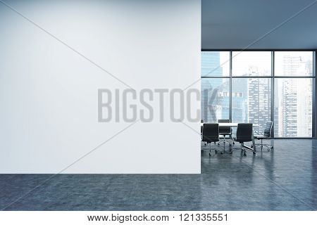 Wall In Office, Window