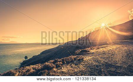 Sunset Over Kos Island