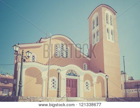 Orthodox Church On Kos Island