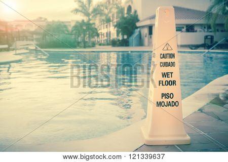 Wet Floor Warning