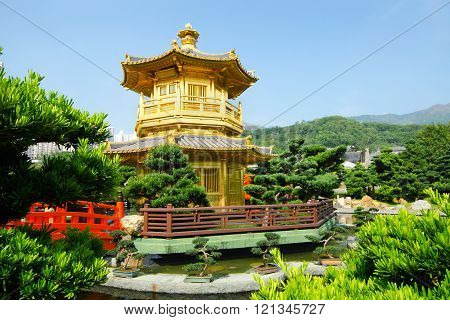 The Pavilion, Nan Lian Garden, Hong Kong