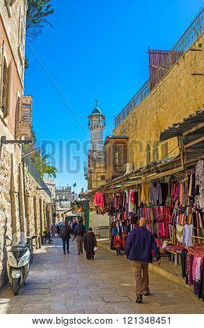 In Muslim Quarter Of Jerusalem