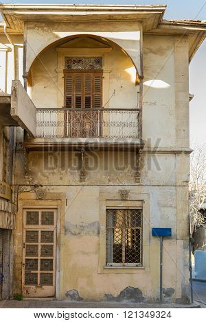 Classic Residential Building in Old Nicosia City Center in Cyprus (within the Venetian walls)