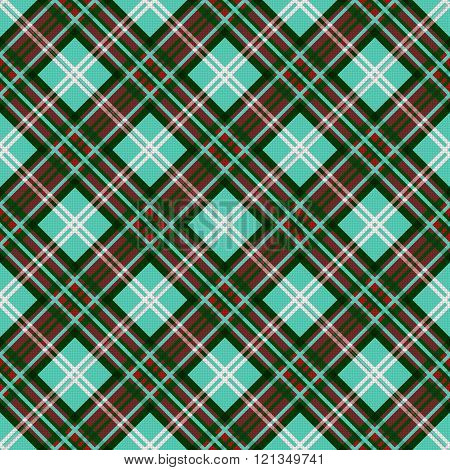 Seamless Diagonal Contrast Pattern