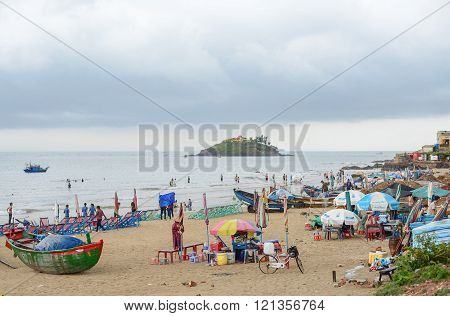 Hon Ba Island. Views From Vung Tau Beach