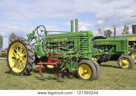 Restored John Deere Tractors