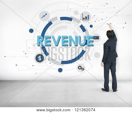 Revenue Finance Business Cost Credit Concept