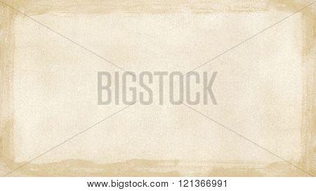 Beige Brown Grunge Retro Border Textured Background Powerpoint Widescreen