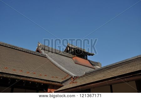 The Japanese vintage roof