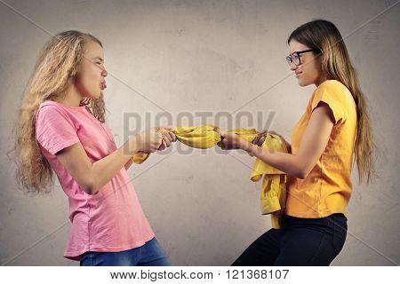 Quarrel between friends