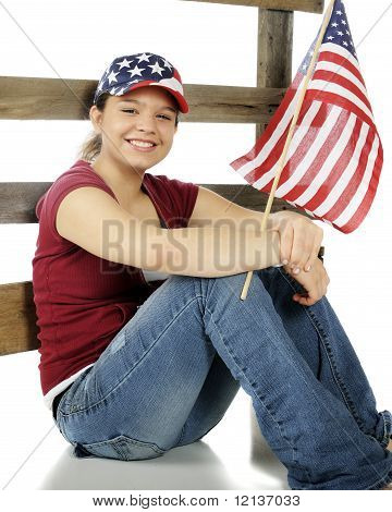Stars-and-stripes Teen