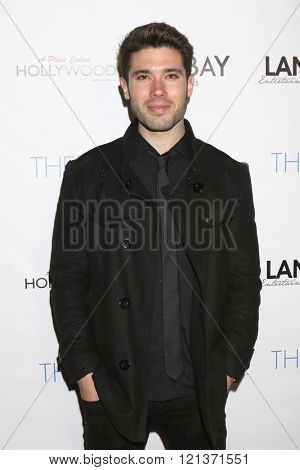 LOS ANGELES - MAR 10:  Kristos Andrews at the 5th Annual LANY Entertainment Mixer at the Saint Felix on March 10, 2016 in Los Angeles, CA