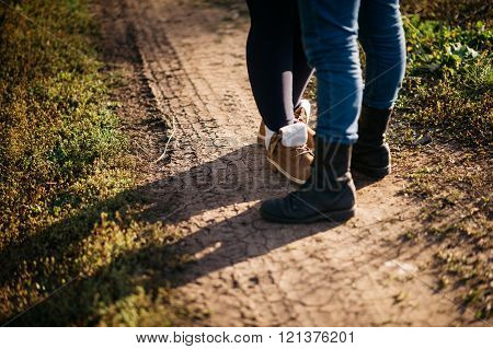 Legs Loving Couple