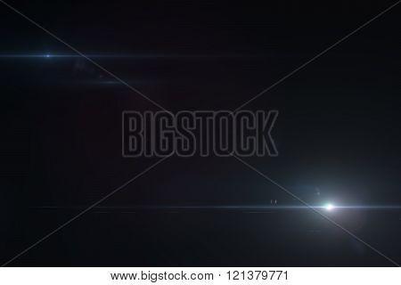 Lens flare effect