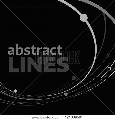 Vector circle lines