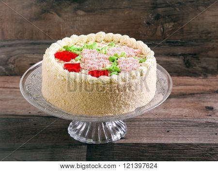 Buttercream Decorated Cake