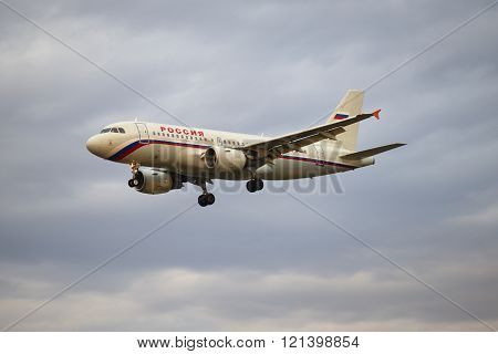 Airplane Airbus A3319-111 (VQ-BAT) airlines