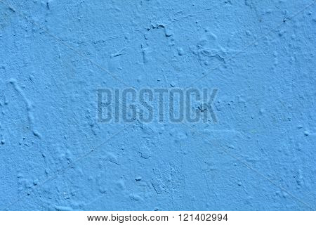 Blue Painted Wall Background