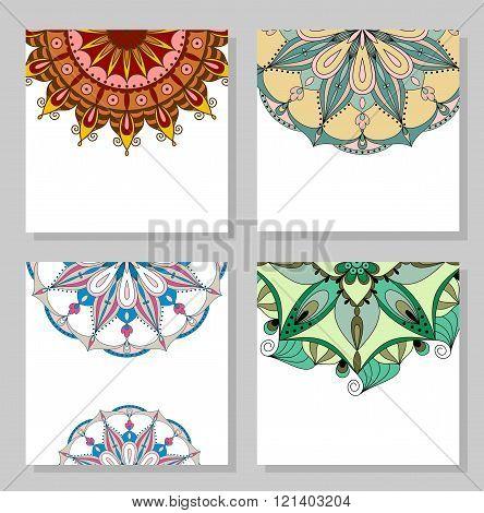 Mandala. Vector illustration.