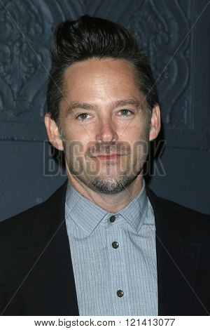 LOS ANGELES - MAR 1: Scott Cooper attends the Premiere of Broad Green Pictures' 'Knight of Cups'  at The Theatre at Ace Hotel on March 1, 2016 in Los Angeles, California