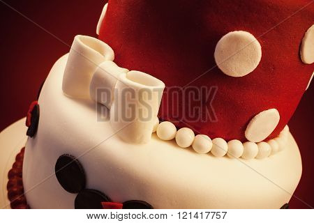Decoration Of A Birthday Cake