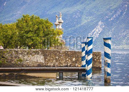 Village of Limone Lago di Garda Italy