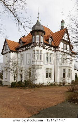 Timbered house Villa Stahmer in Georgsmarienhuette