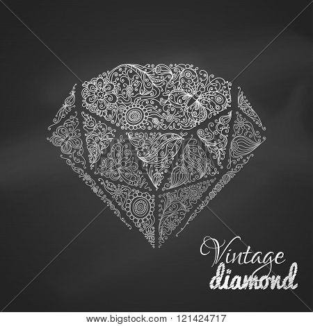 Chalk Vintage Diamond.