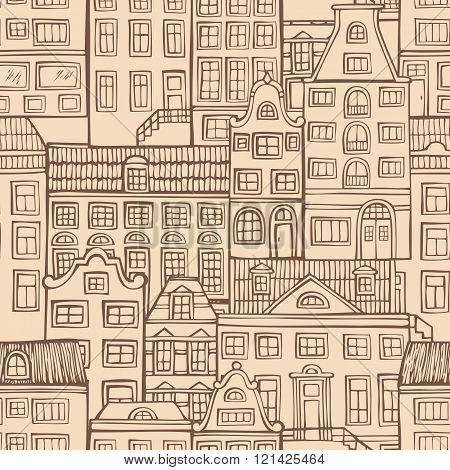 Seamless Urban Pattern.