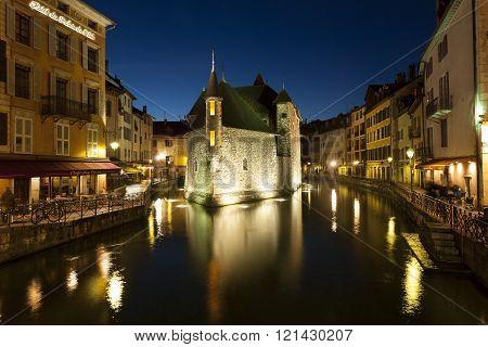 Palais de l'Île Annecy Savoie Rhône-Alpes France