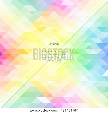Abstract colorful iridescent vector background