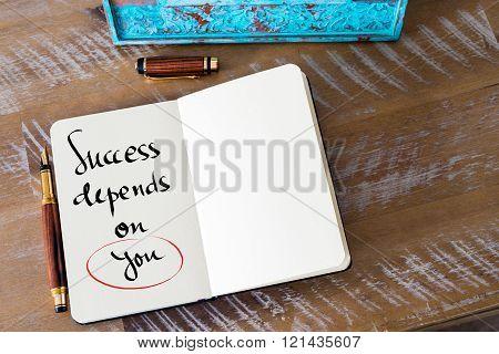 Written Text Success Depends On You