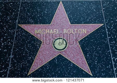 Michael Bolton Hollywood Star