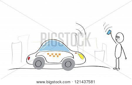 Taxi Internet Service