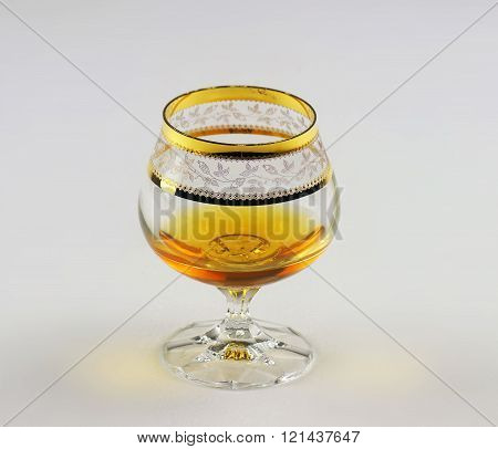 Glass Of Old Brandy