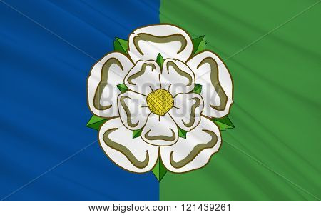 Flag Of East Riding Of Yorkshire County, England