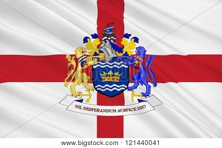 Flag Of City Sunderland, England
