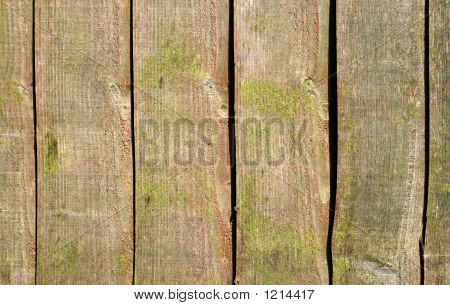 Wood Fence Background.
