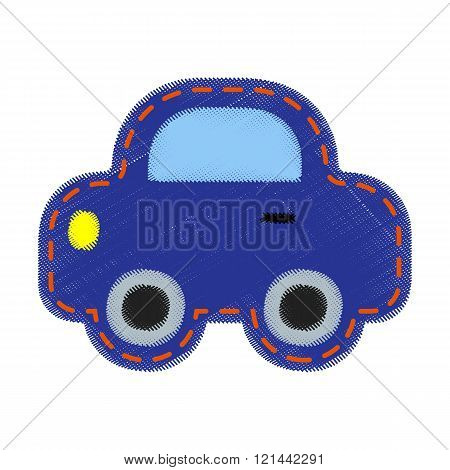 Patch with car- for kids