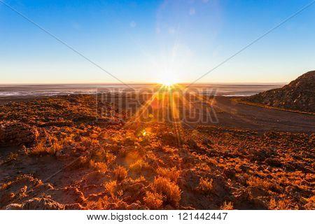 Altiplano Sunrise, Bolivia