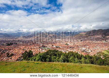 Cusco Aerial View