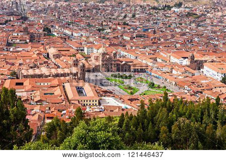 Cusco Aerial View