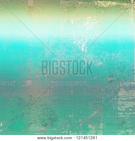Cute colorful grunge texture or tinted vintage background. With different color patterns: yellow (beige); green; blue; cyan; gray