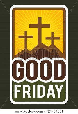 Christianity Good Friday Sign And Symbol