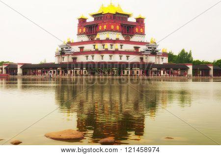 Five Madras Mandala Building
