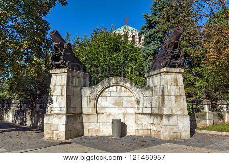 St. George the Conqueror Chapel Mausoleum, Pleven, Bulgaria
