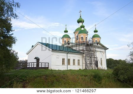 Smolensk Cathedral of the icon of the god mother. Olonets, Karelia