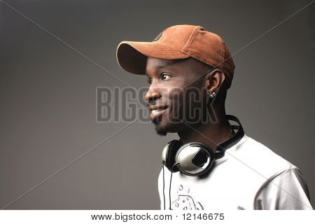 a portrait of a deejay
